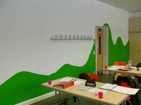 Eichendorffschule schub klasse gestaltet ihren for Raumgestaltung schule